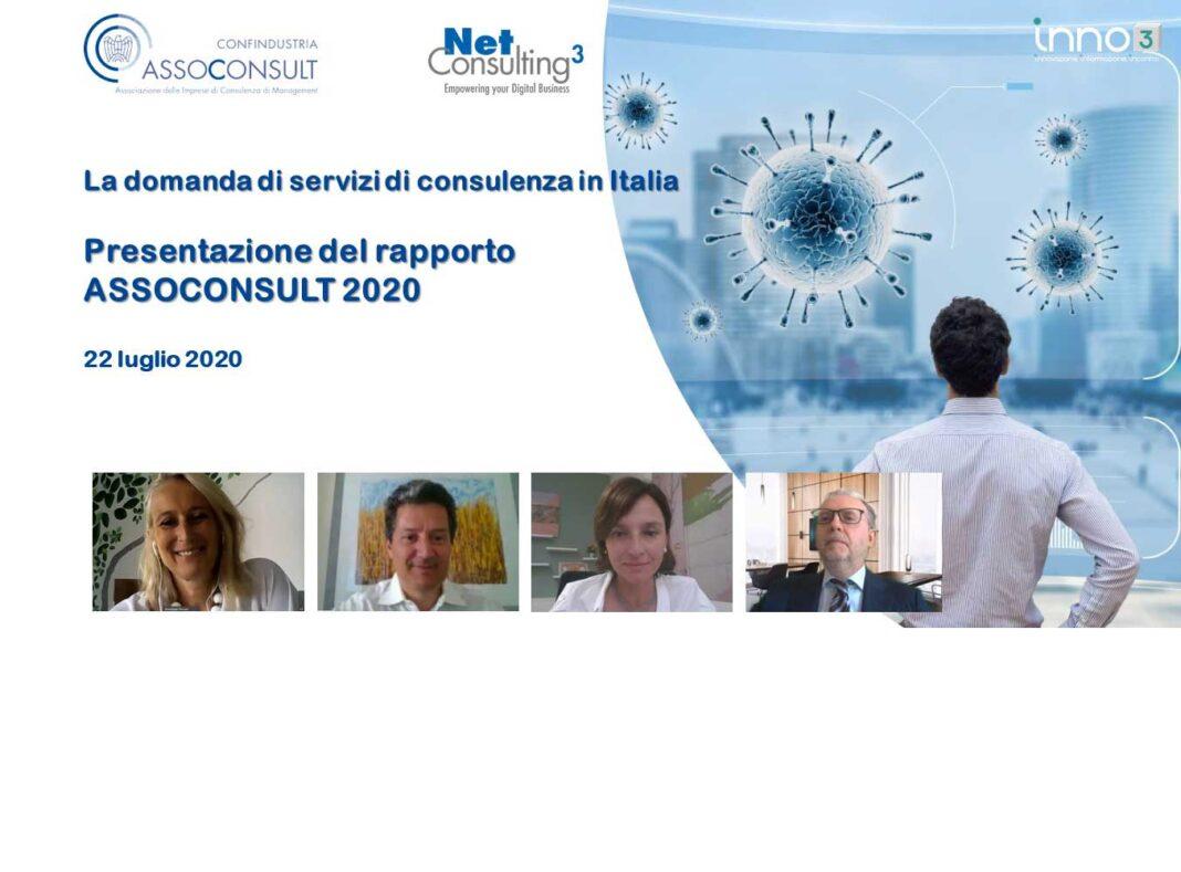 Webinar: 1° Rapporto Assoconsult, la domanda di servizi di consulenza in Italia