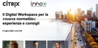Webinar: Citrix, Digital Workspace e nuova normalità