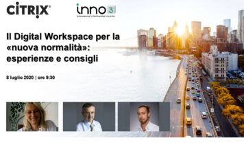 Webinar: Citrix, Digital Workspace e nuova normalità