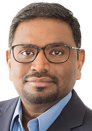 Frank Antonysamy, global head IoT business di Cognizant