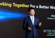 Guo Ping Huawei Better World Summit