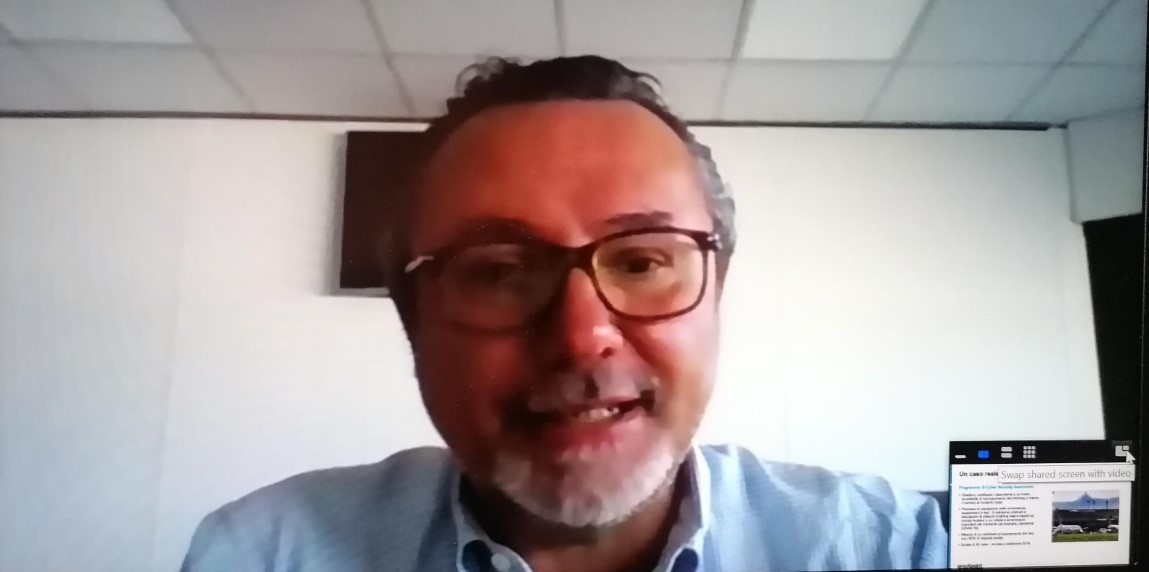 Luigi Ricchi, del team IT e Innovazione dell'Aeroporto G. Marconi di Bologna