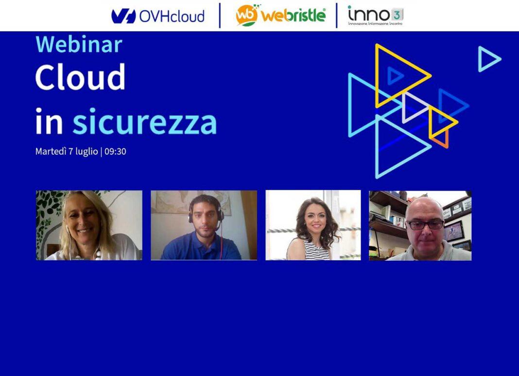 Webinar: OVHcloud, cloud in sicurezza