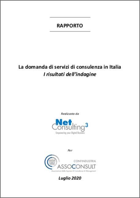 Rapporto Assoconsult: La domanda di servizi di consulenza in Italia
