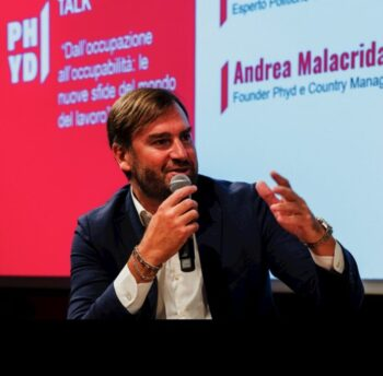 Andrea Malacrida, fondatore di Phyd e country manager di The Adecco Group in Italia