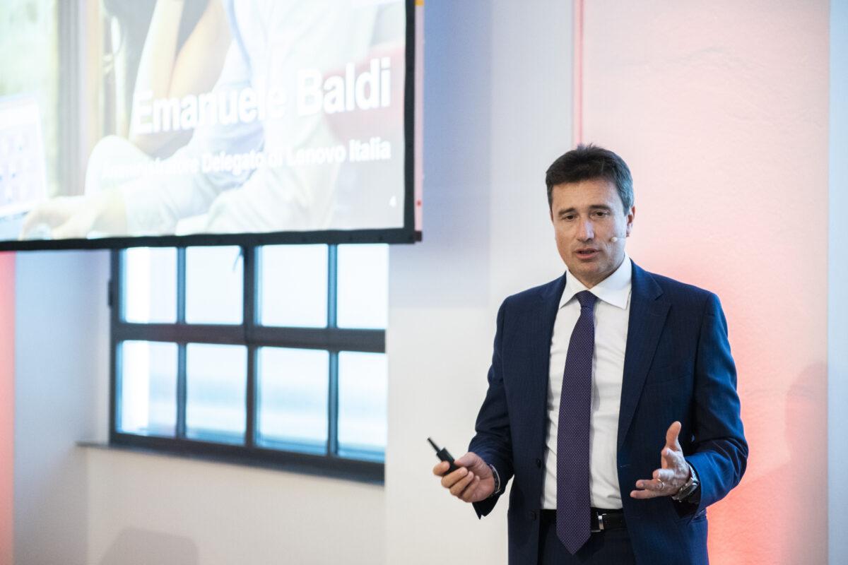 Emanuele Baldi - AD e general manager Lenovo Italia