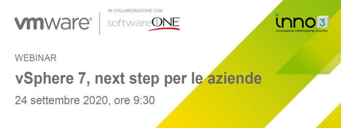 Webinar VMware-SoftwareONE: vSphere 7, next step per le aziende