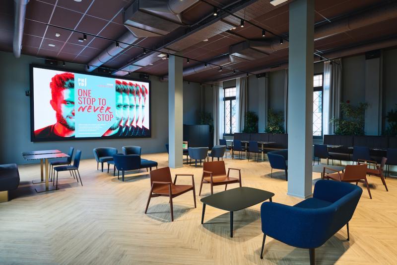Phyd Hub Milano - spazi interni