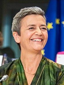 Margrethe Vestager Commissione UE