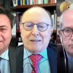 Marco Gay, presidente di Anitec-Assinform - Cesare Avenia, presidente di Confindustria Digitale - Giancarlo Capitani, presidente di NetConsulting cube