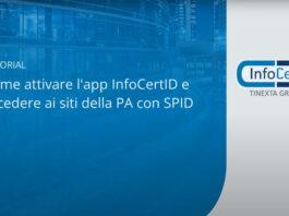 Come attivare l'App InfoCert ID e accedere al portale INPS con SPID