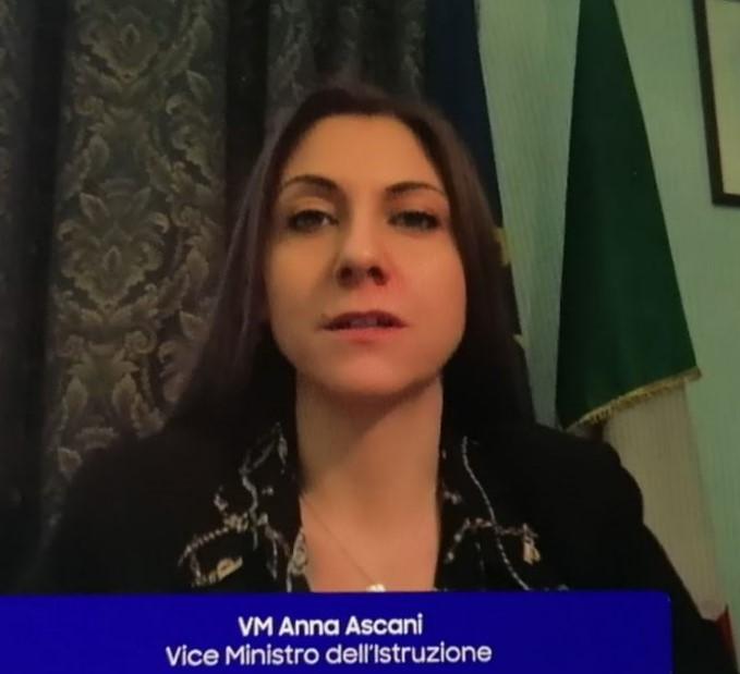 Anna Ascani, Vice Ministro dell'Istruzione