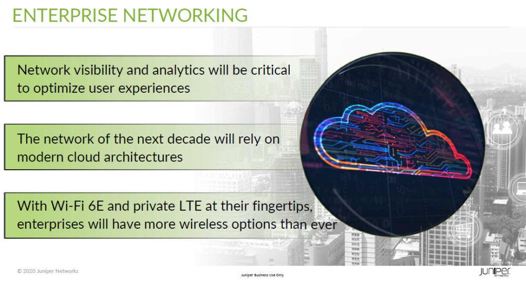 Alcuni trend che caratterizzeranno nel 2021 l'evoluzione delle reti