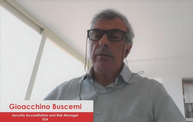 Gioacchino Buscemi, security accreditation and risk manager di Esa