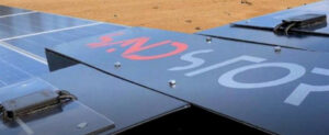 Il robot Reiwa per la pulizia dei pannelli fotovoltaici