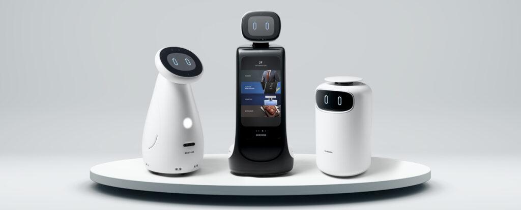 Samsung in occasione di Ces 2021 ha presentato i suoi nuovi robot