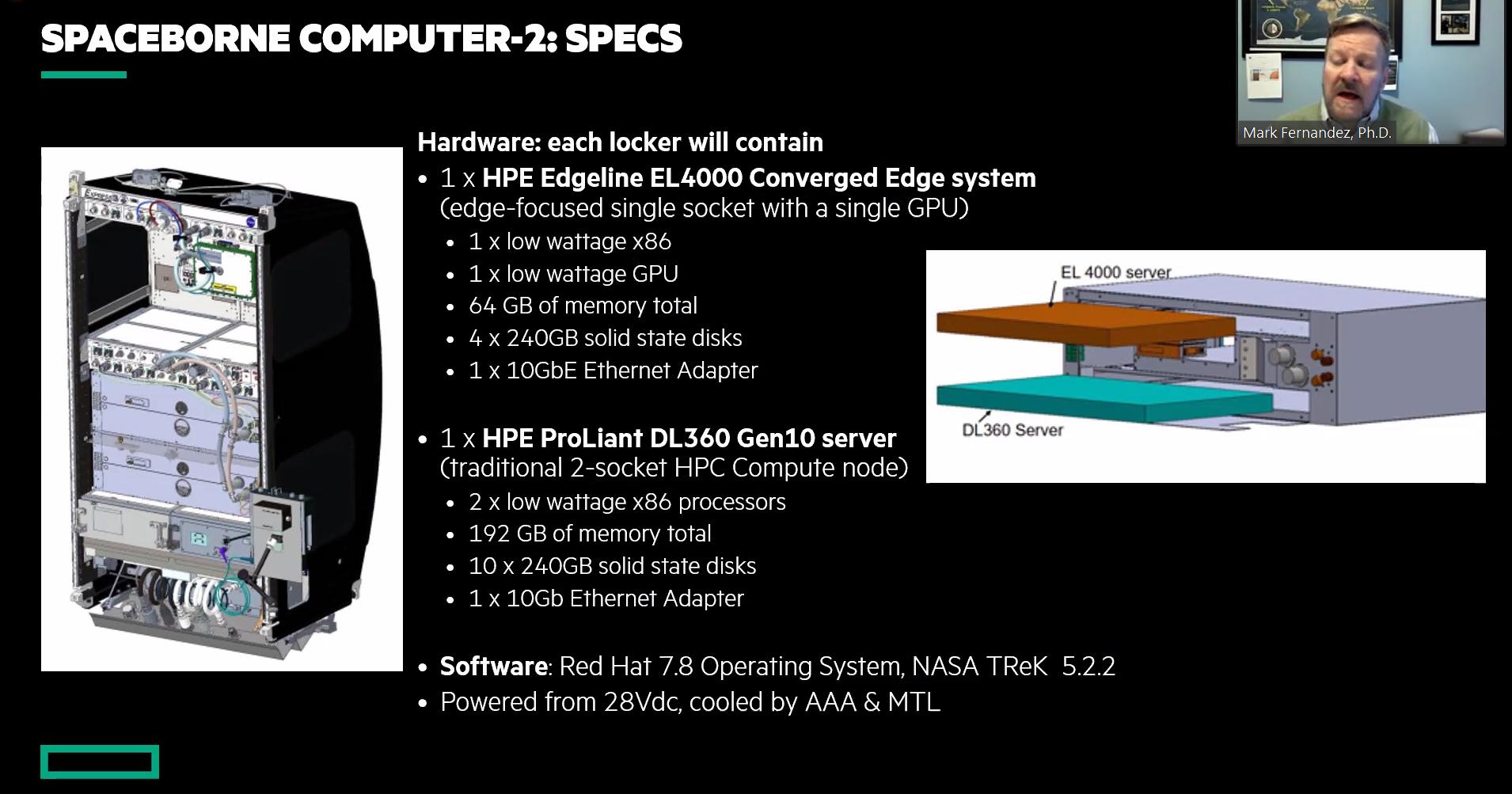 Hpe Spaceborne Computer-2 - Specifiche