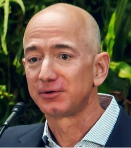 Jeff Bezos, presidente di Amazon