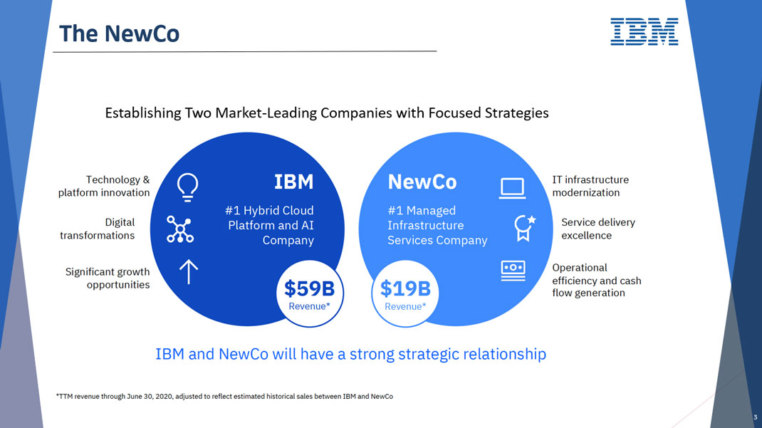 IBM - The NewCo