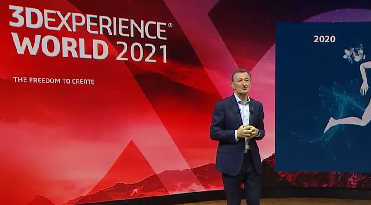 3DExperience 2021 - Bernard Charlès, Ceo e VP of the Board di Dassault Systèmes