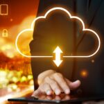 Cloud computing technology and online data storage for global data sharing