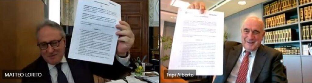 Firma Accordo Almaviva Università Studi Napoli Federico II