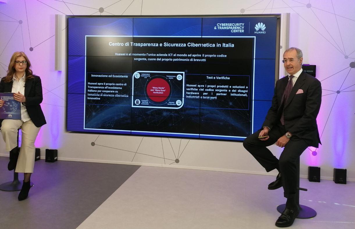 Luca Piccinelli, head of Cyber security di Huawei Italia