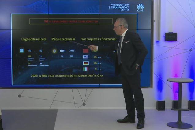Luigi De Vecchis, presidente Huawei Italia