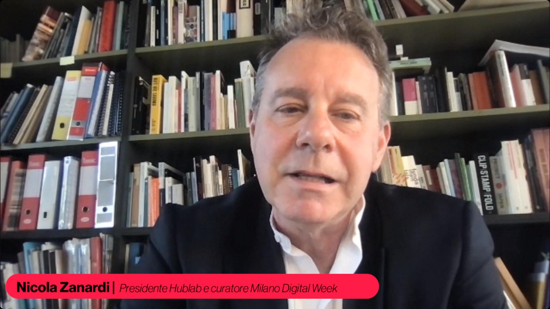 Nicola Zanardi, presidente Hublab e curatore Milano Digital Week