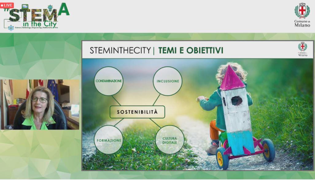 #STEMintheCity 2021 - Comune di Milano