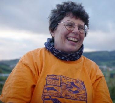 Lisa Steiner, biologa Wales Watch Azores