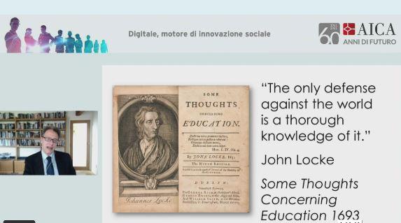Evento Aica - Luciano Floridi, professore Ordinario di Filosofia ed etica dell'informazione Oxford Internet Institute - Università di Oxford