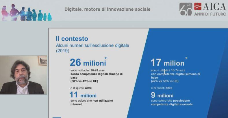 Evento Aica - Nello Iacono, coordinatore attività progetto Repubblica Digitale