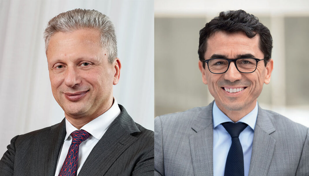 Aiman Ezzat, Ceo di Capgemini Group e William Rozé, Ceo di Capgemini Engineering
