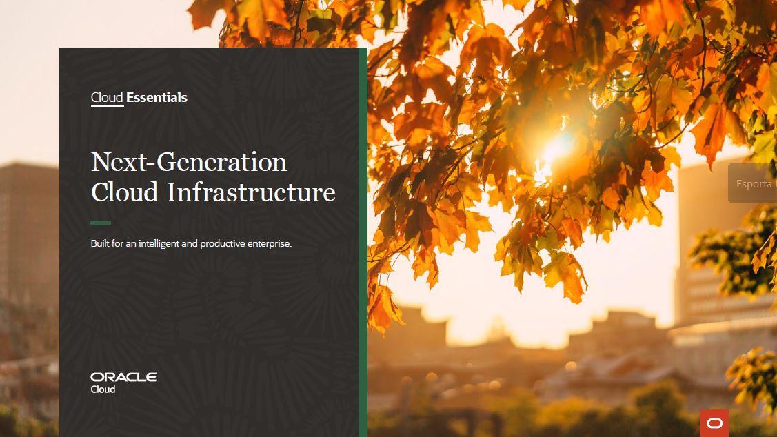 Whitepaper: Next-Generation Cloud Infrastructure