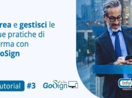 Tutorial: Crea una pratica di firma online con GoSign