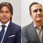 Denis Cassinerio, director regional sales Seur di Bitdefender - Enrico Manetti, business unit manager security di Computer Gross