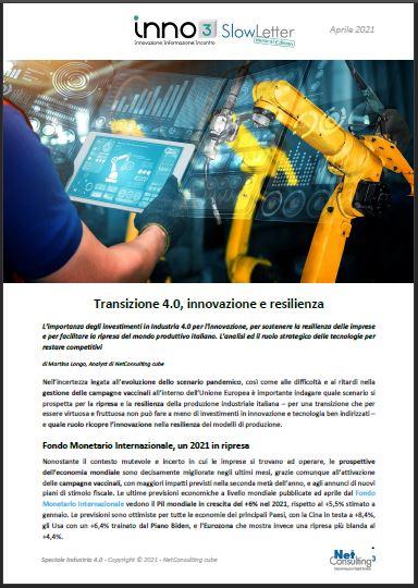 Speciale Industria 4.0 - SlowLetter Aprile 2021