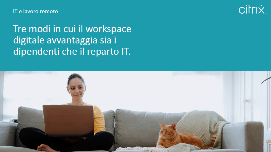 Tre modi in cui il workspace digitale avvantaggia sia i dipendenti che il reparto IT
