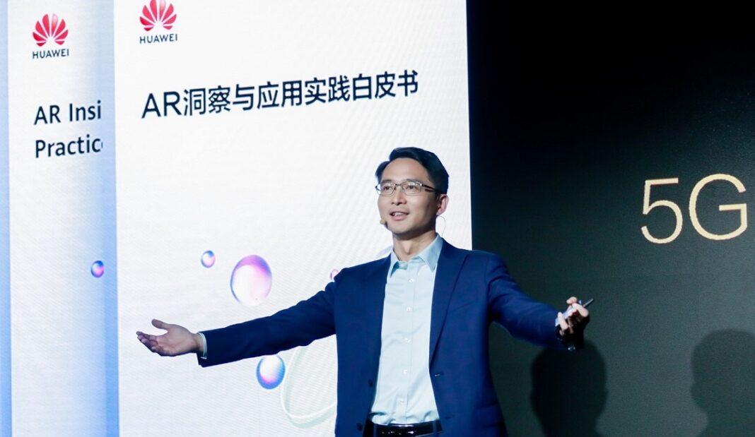 Bob Cai Huawei 5 G e realtà aumentata
