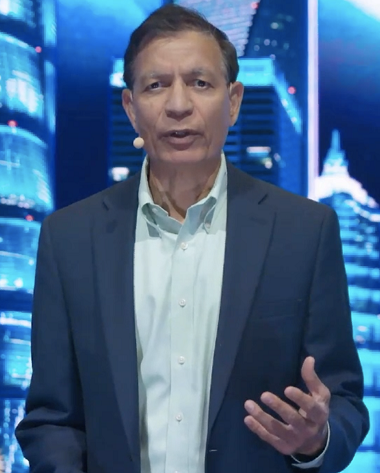 Jay Chaudhry, Ceo, chairman e founder di Zscaler