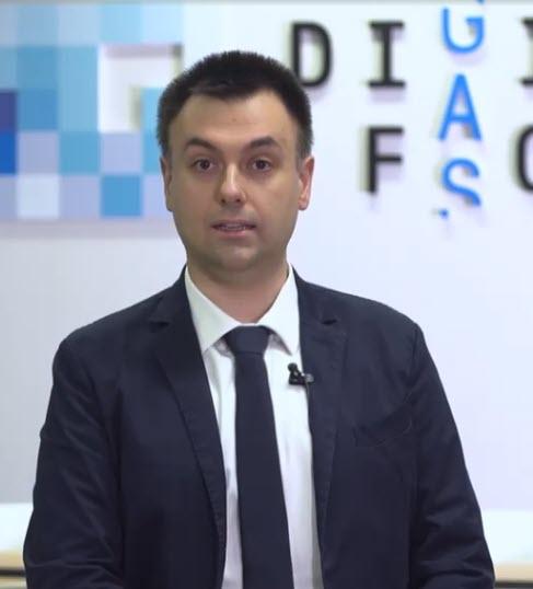Giuliano Caglio,Responsabile team Cloud Services & Infrastructure di Italgas