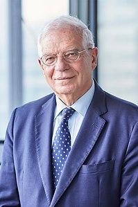 JosepBorrell, alto rappresentante dell'Unione per gli affari esteri e la politica di sicurezza