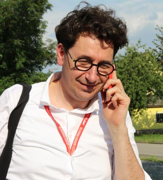 Mattia Binotto, direttore della Scuderia Ferrari