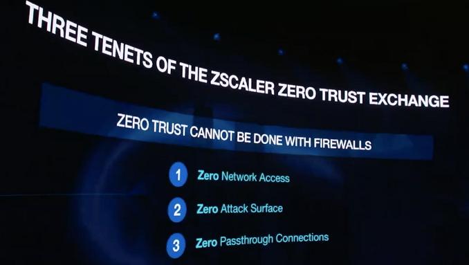 Zscaler Trust Exchange - I tre principi cardine