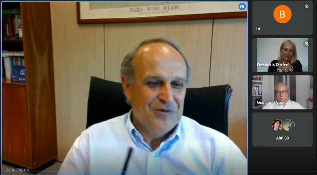 Dario Pagani, EVP Global Digital & IT di Eni