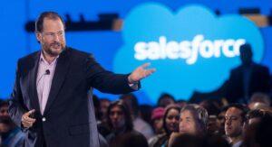 Marc Benioff, presidente e Ceo di Salesforce