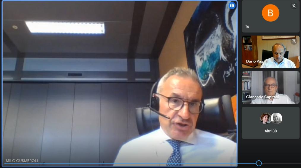 Milo Gusmeroli, Vicedirettore Generale e CIO Banca Popolare di Sondrio