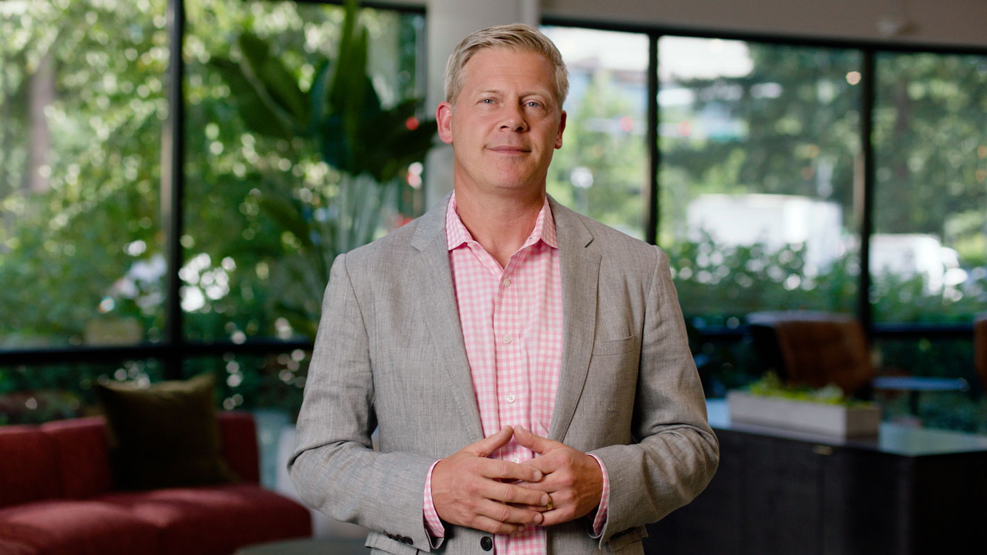 Nick Parker, corporate vice president, Global Partner Solutions di Microsoft - Microsoft Inspire 2021