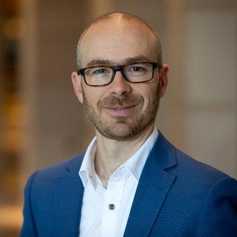 Peter Gray, senior vice president, Advanced Technology Group, Sport di Ntt